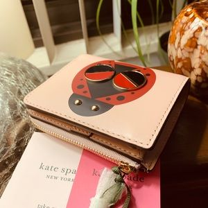Authentic Kate Spade Italian Leather Bifold wallet